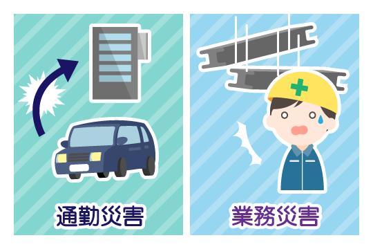 労災が使える事故と使えない事故
