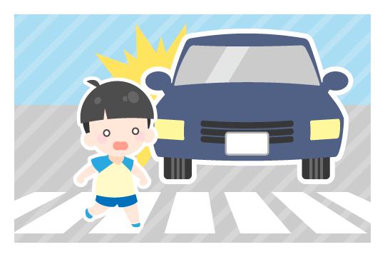 信号機が設置されていない横断歩道