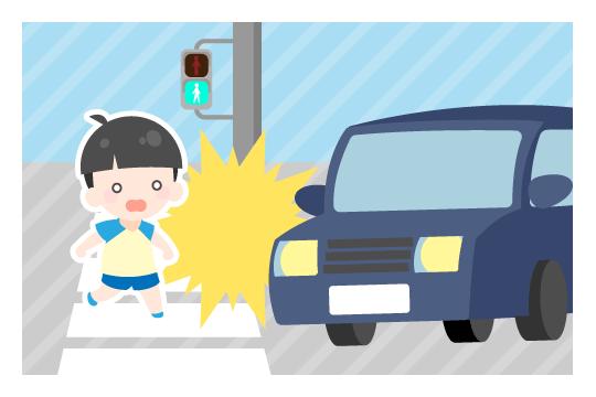 信号機が設置されている横断歩道